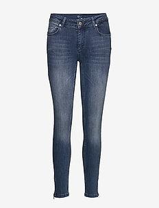 31 THE CELINAZIP CUSTOM - slim jeans - medium blue vintage wash