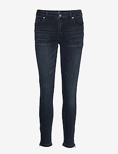 31 THE CELINAZIP CUSTOM - jeans slim - dark blue wash