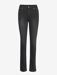 33 THE CELINA HIGH STRAIGHT CUSTOM - straight jeans - black wash
