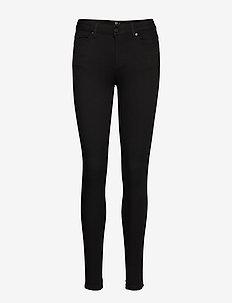 36 THE CREOL CUSTOM - skinny jeans - black un-wash