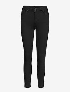 39 THE CELINAZIP BLACK CUSTOM - skinny jeans - black un-wash