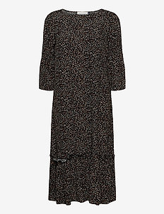 DHLeonora Dress - robes midi - leo print