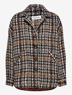 DHTwigg Jacket - wełniane kurtki - hazel checks