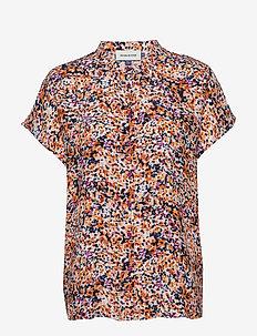 DHFleur SS Shirt - overhemden met korte mouwen - wild aster