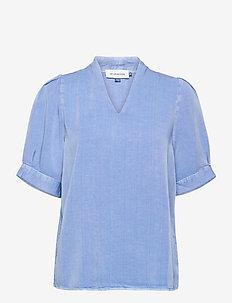 DHCosmo Blouse - långärmade blusar - allure blue