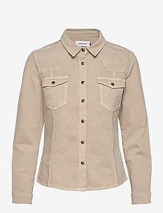 DHBlake Shirt - kleding - plaza taupe washed