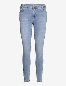 DHCillezip Custom - skinny jeans - light blue wash