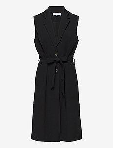DHIda Waistcoat - vestes rembourrées - black
