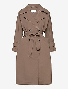 DHLiv Trenchcoat - trenchcoats - walnut