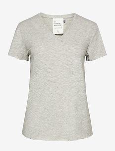 08 THE VTEE Slub Yarn Jersey - t-shirts - titanium melange