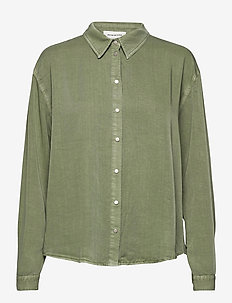 DHCosmo Shirt - long-sleeved shirts - oil green