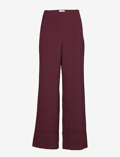DHEllo Pants - pantalons larges - vineyard wine