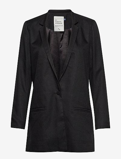 06 THE SUIT - oversize blazers - black