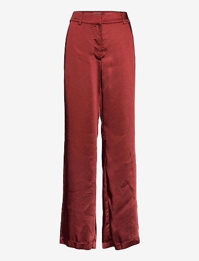 DHMaci Vide Pants - vide bukser - madder brown