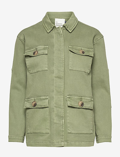 20 THE ARMY JACKET - vestes utilitaires - dusty olive