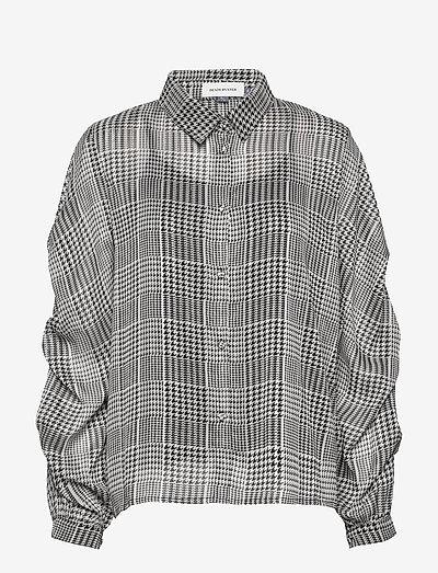 DHAllie Shirt - langermede bluser - black