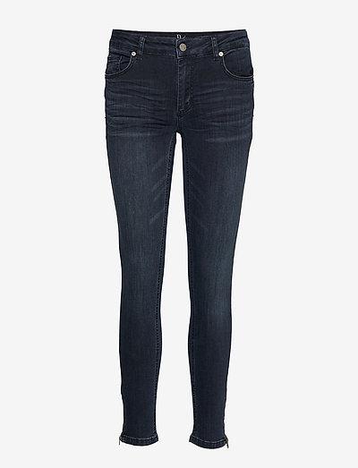 31 THE CELINAZIP CUSTOM - jeans slim - dark blue wash