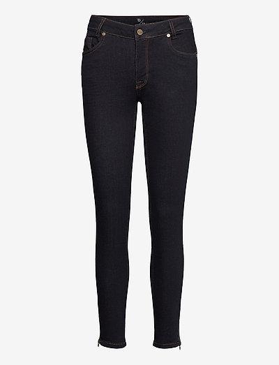 31 THE CELINAZIP TENNA CUSTOM - slim jeans - dark blue un-wash
