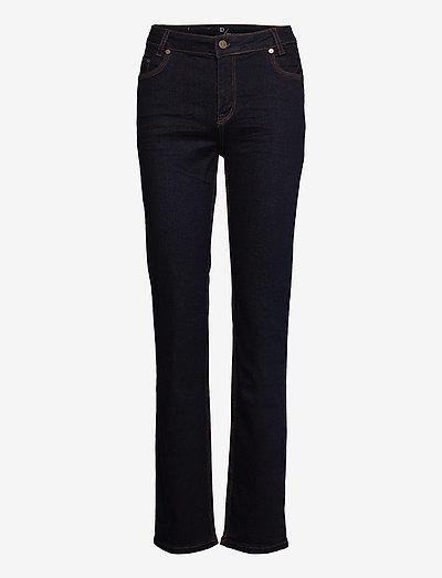 33 THE CELINA TENNA HIGH CUSTOM - jeans droites - dark blue un-wash
