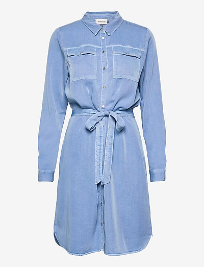 DHCosmo Shirtdress - skjortekjoler - allure blue