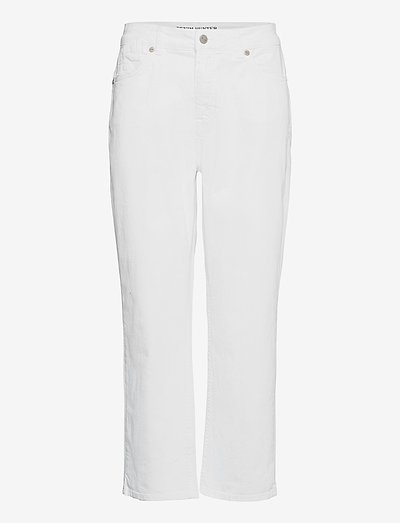 DHVilma Cropped Custom - straight regular - white wash