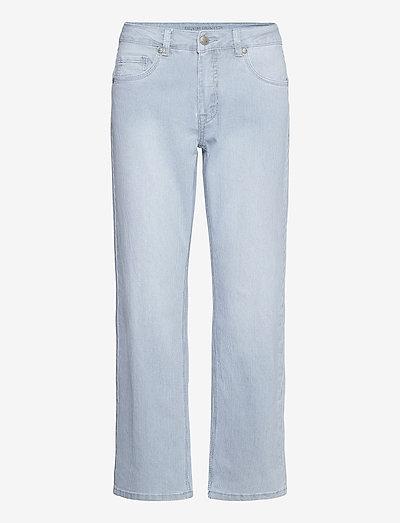 DHVitus Cropped Custom - straight jeans - light blue wash
