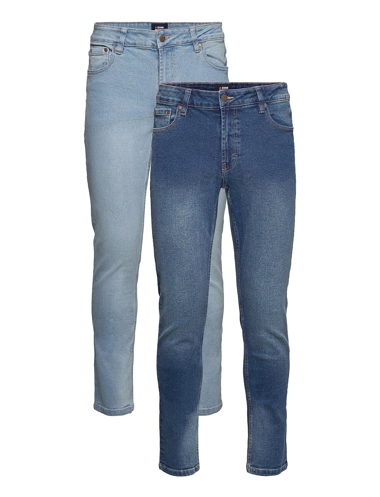 Image of Mr Red 2 Pack Slim Jeans Blå Denim Project (3531192325)