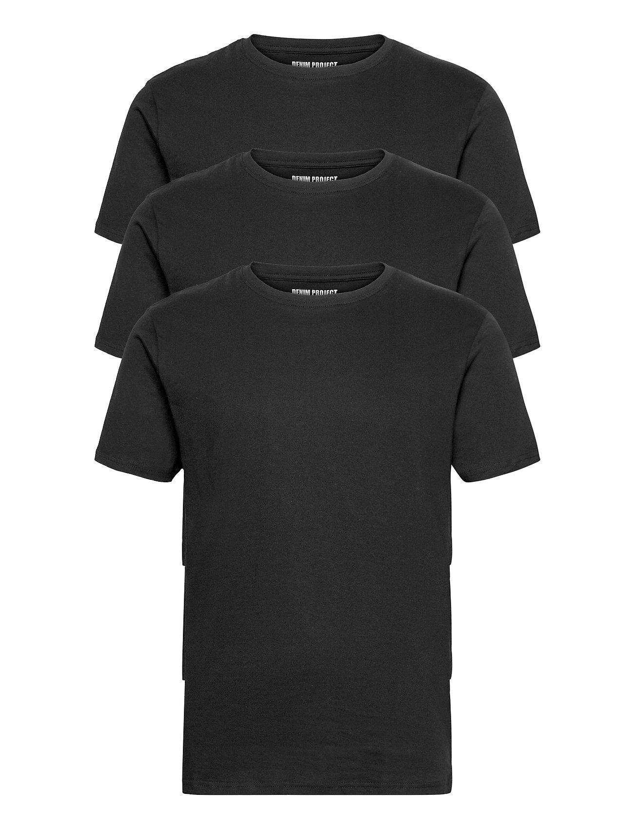 Image of 3 Pack T-Shirts T-shirt Sort Denim Project (3484641455)