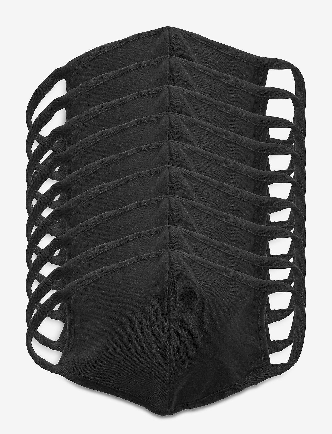Denim project - MASK 10 PACK - gezicht maskers - black - 0