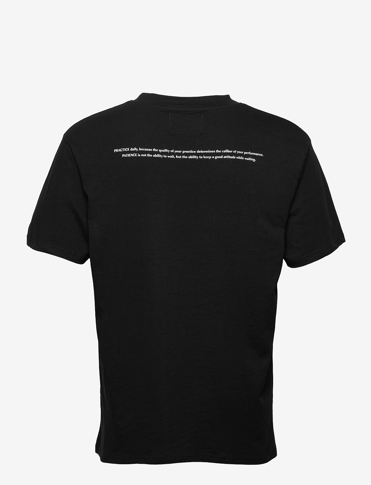 Denim project - DP Statement Relaxed Tee - basic t-shirts - 001 black - 1