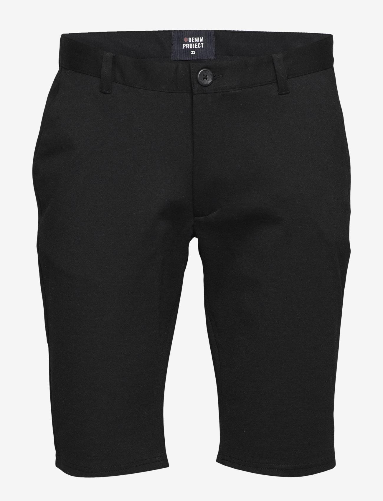 Denim project - Ponte Shorts - chinos shorts - black - 0