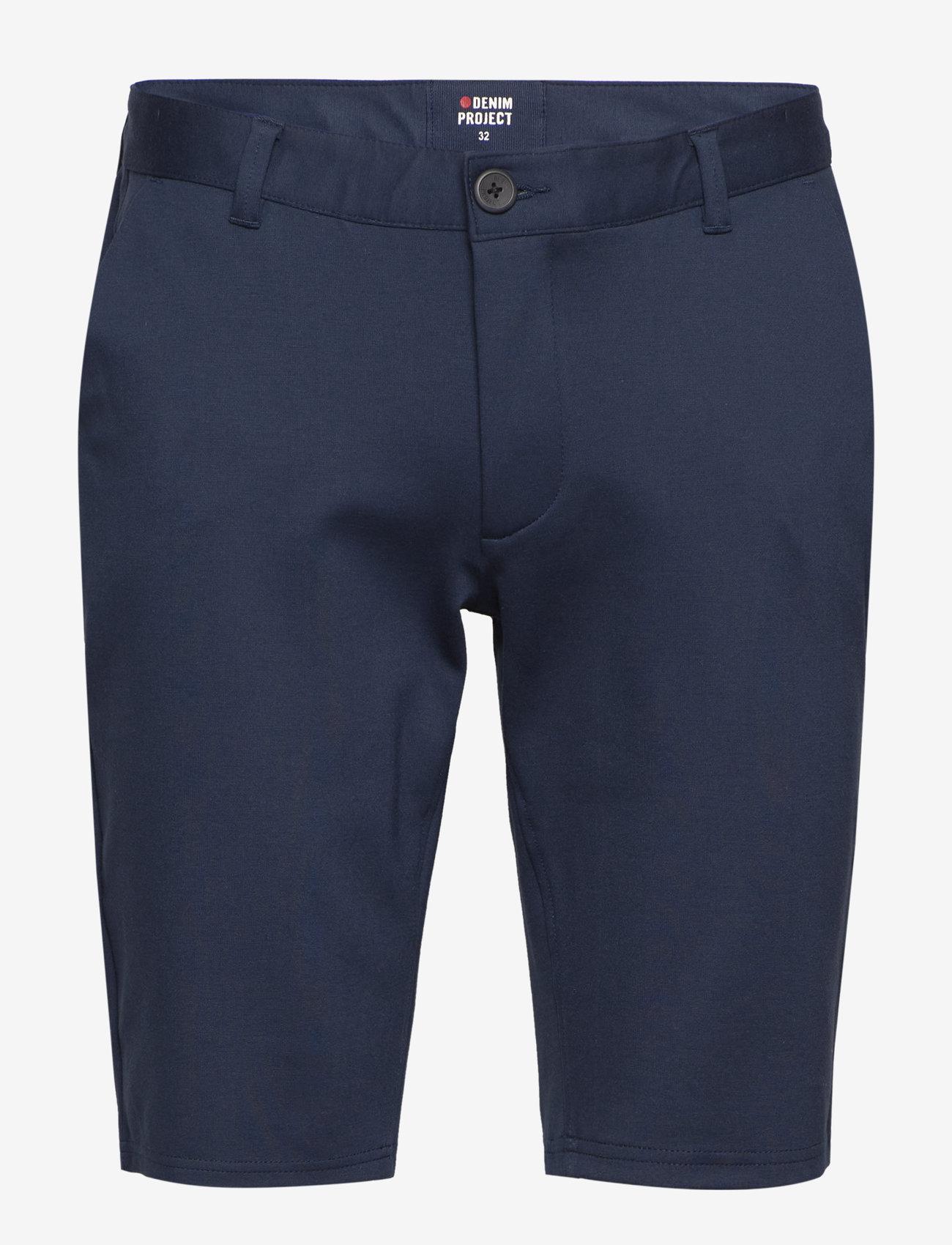 Denim project - Ponte Shorts - chinos shorts - navy - 0