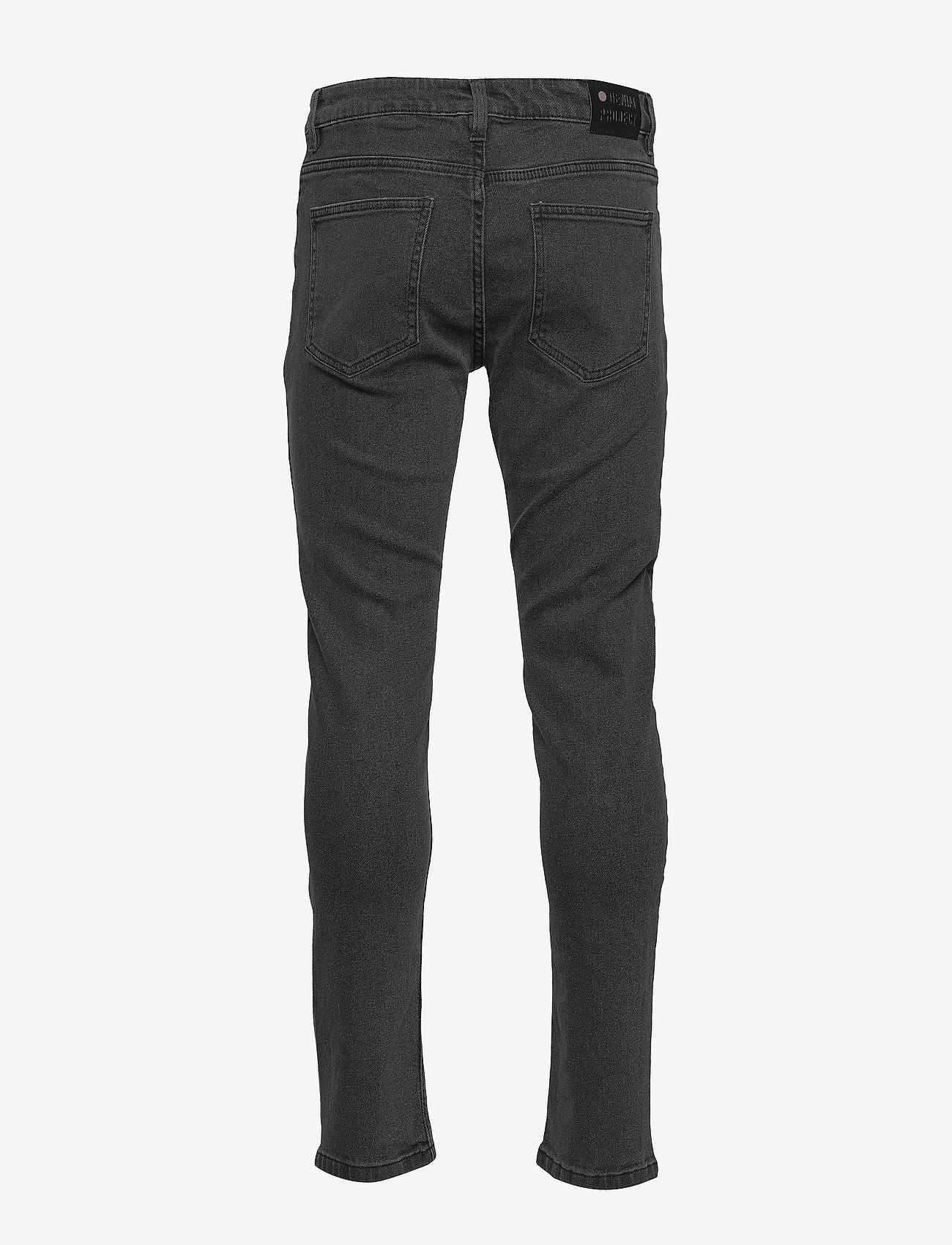 Denim project - Mr. Red - slim jeans - grey - 1