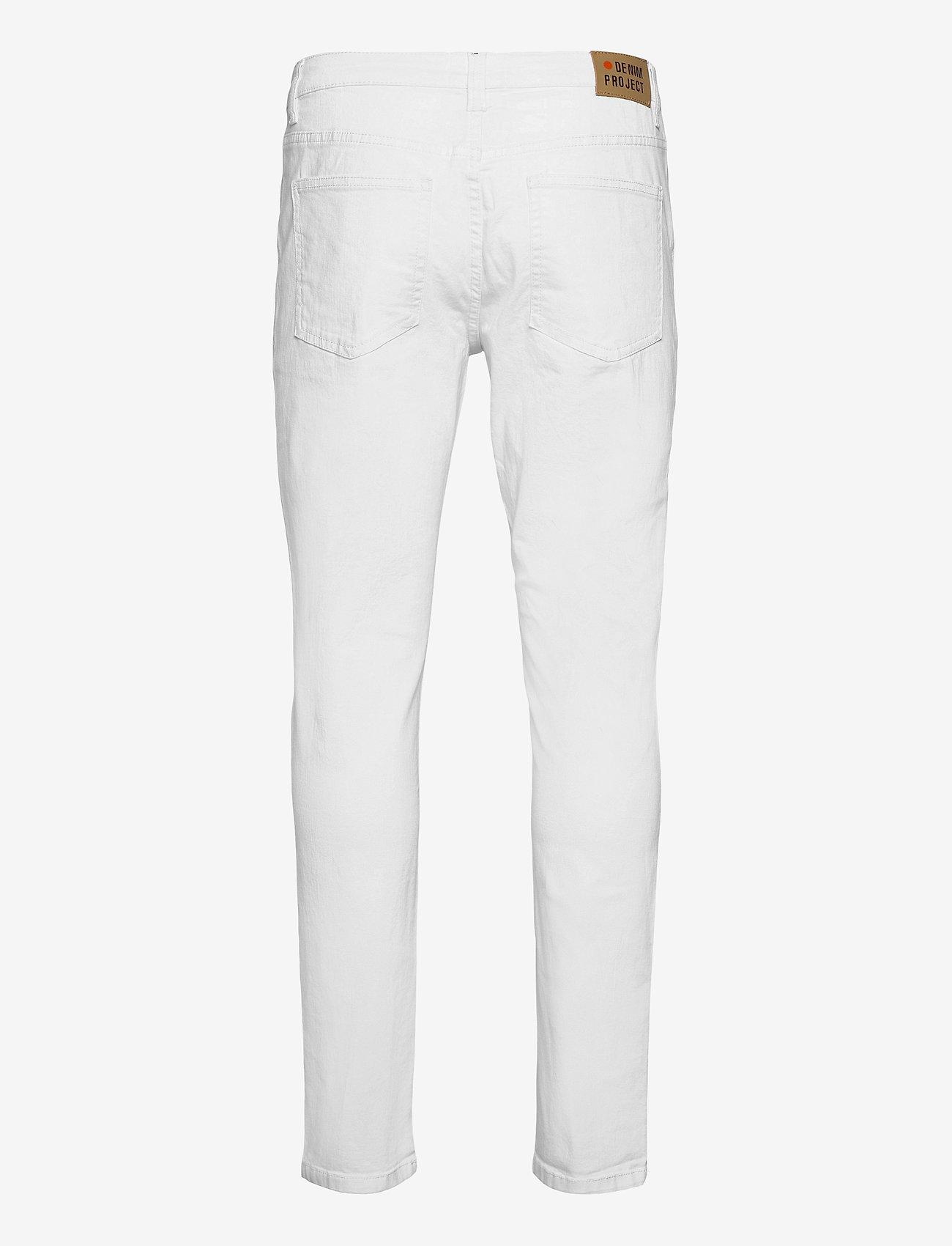 Denim project - Mr. Red - slim jeans - white - 1
