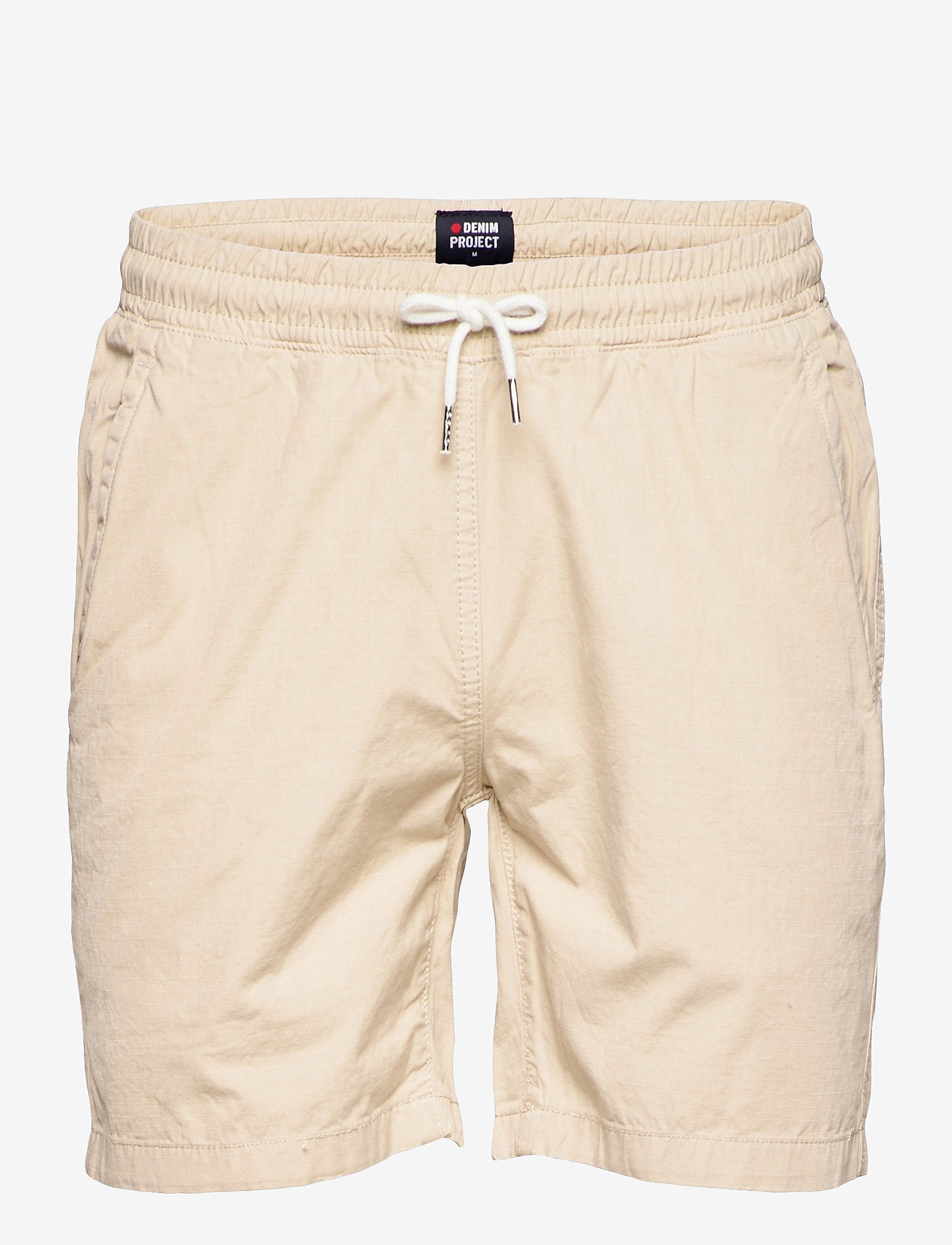 Denim project - Drawstring Organic Short - casual shorts - 128 ivory - 0