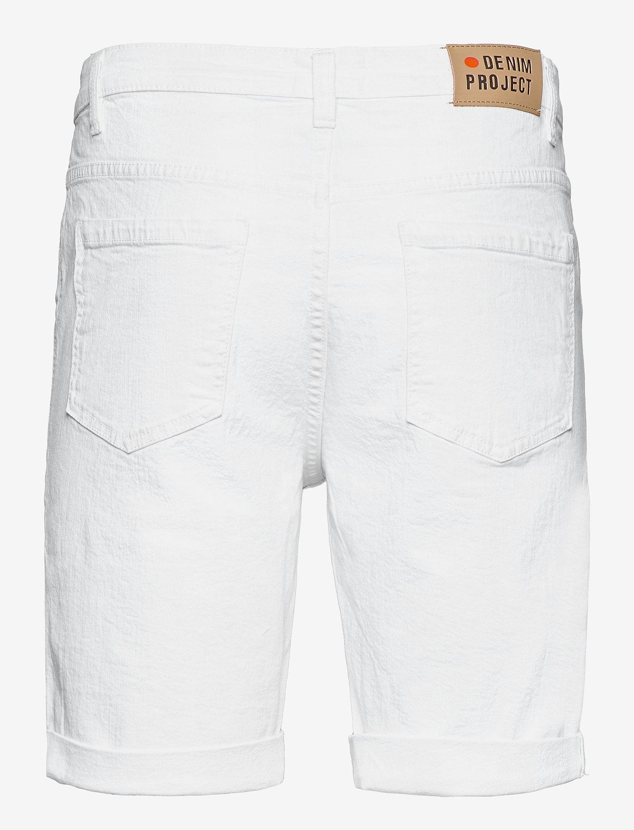 Denim project - Mr. Orange - denim shorts - 002 white - 1