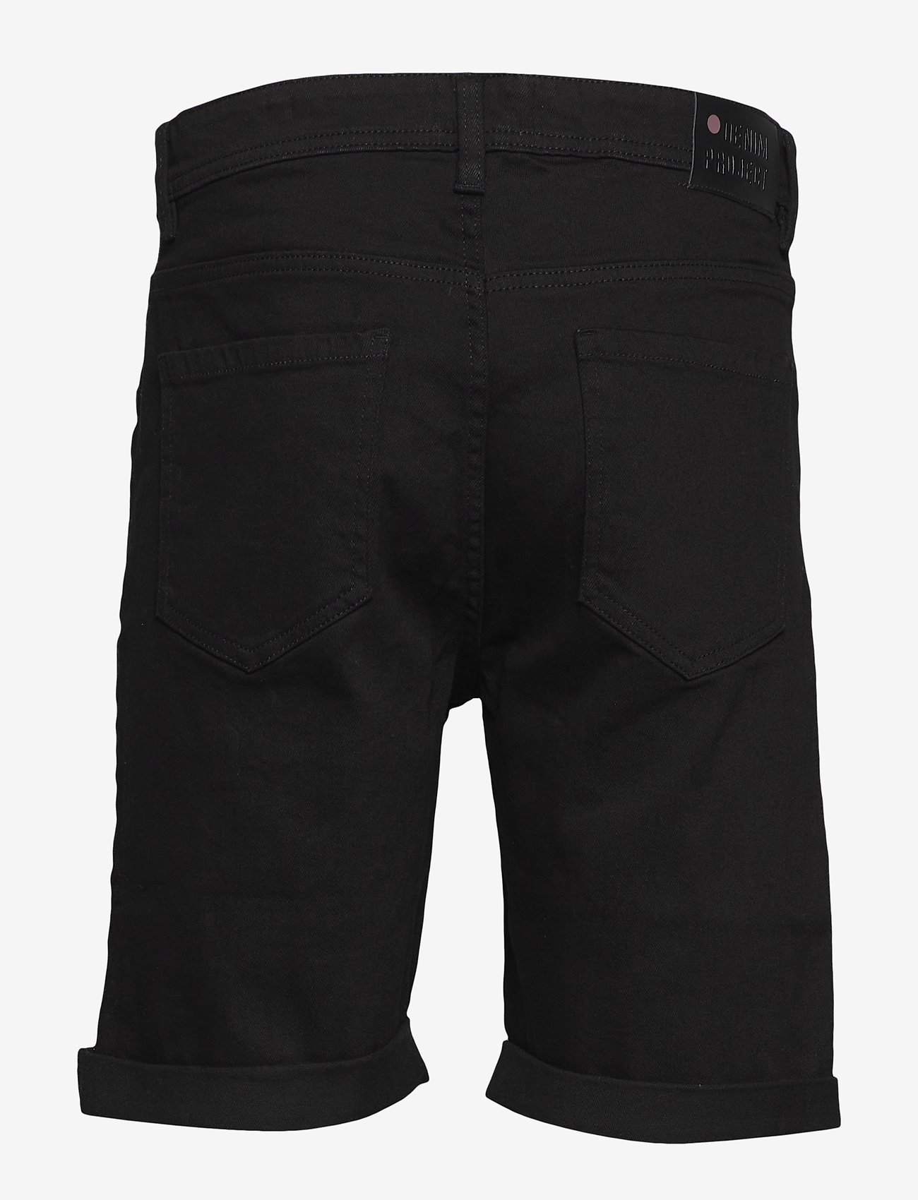 Denim project - Mr. Orange - farkkushortsit - black - 1