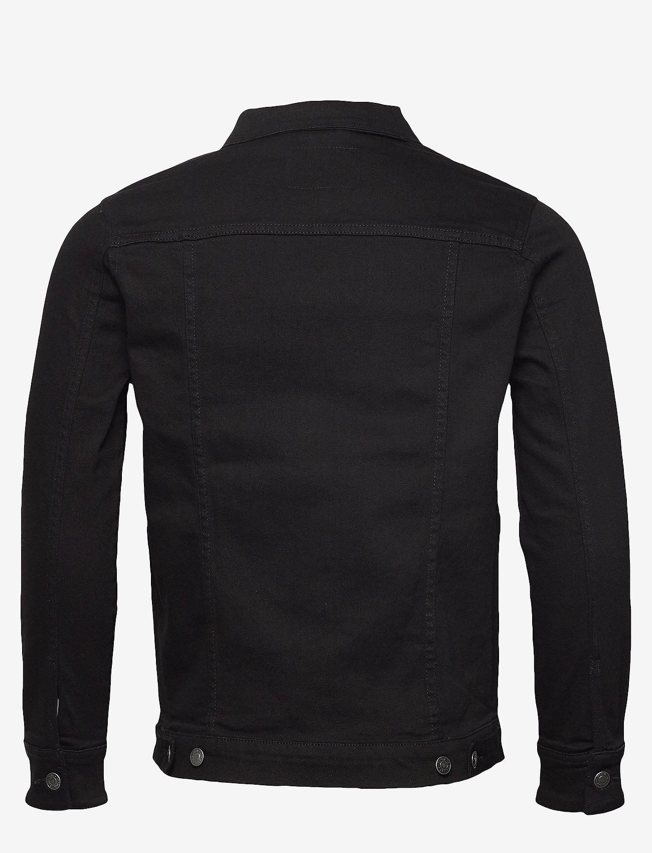 Denim project - Kash Denim Jacket - farkkutakit - black - 1