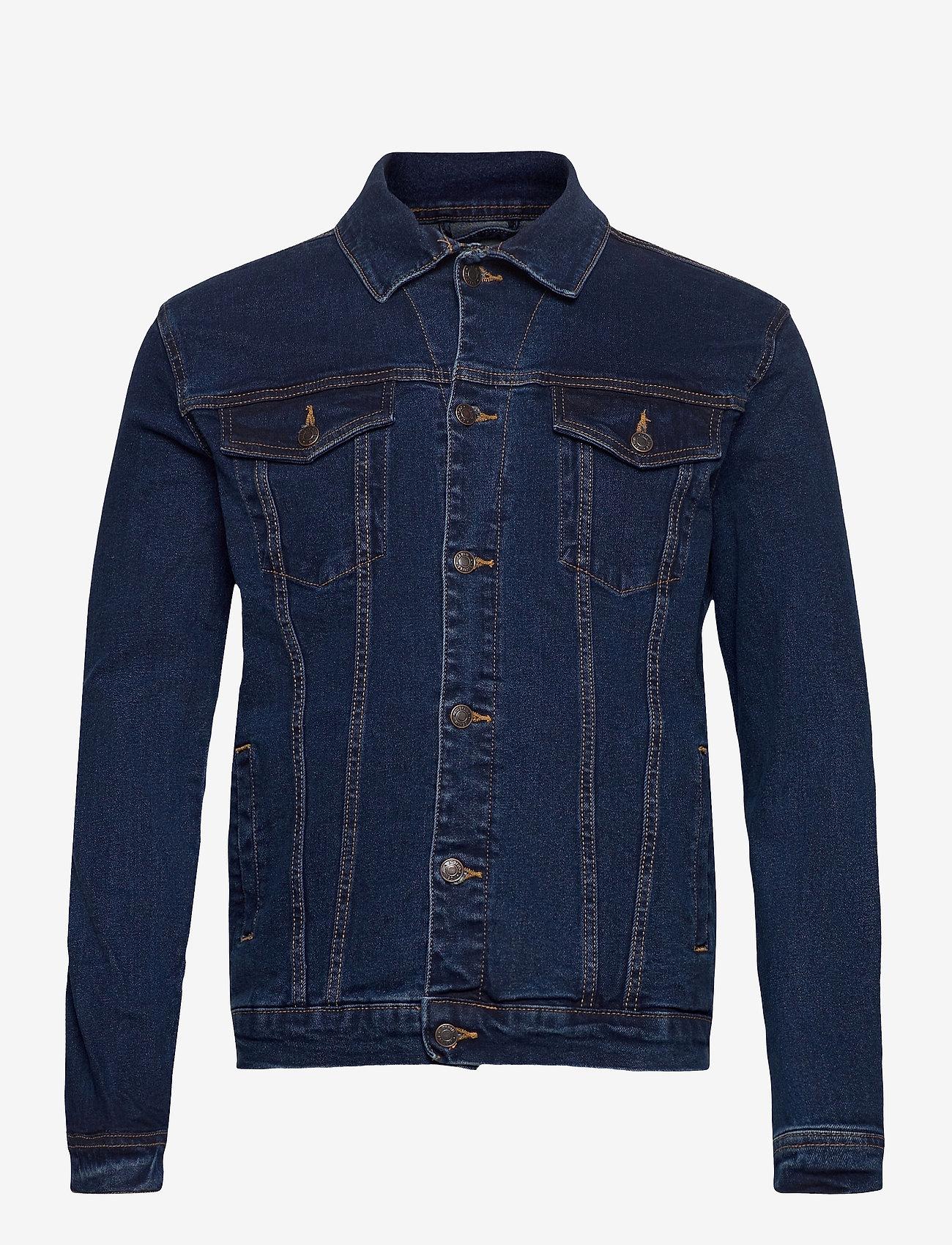 Denim project - Kash Denim Jacket - denimjakker - dark blue - 0