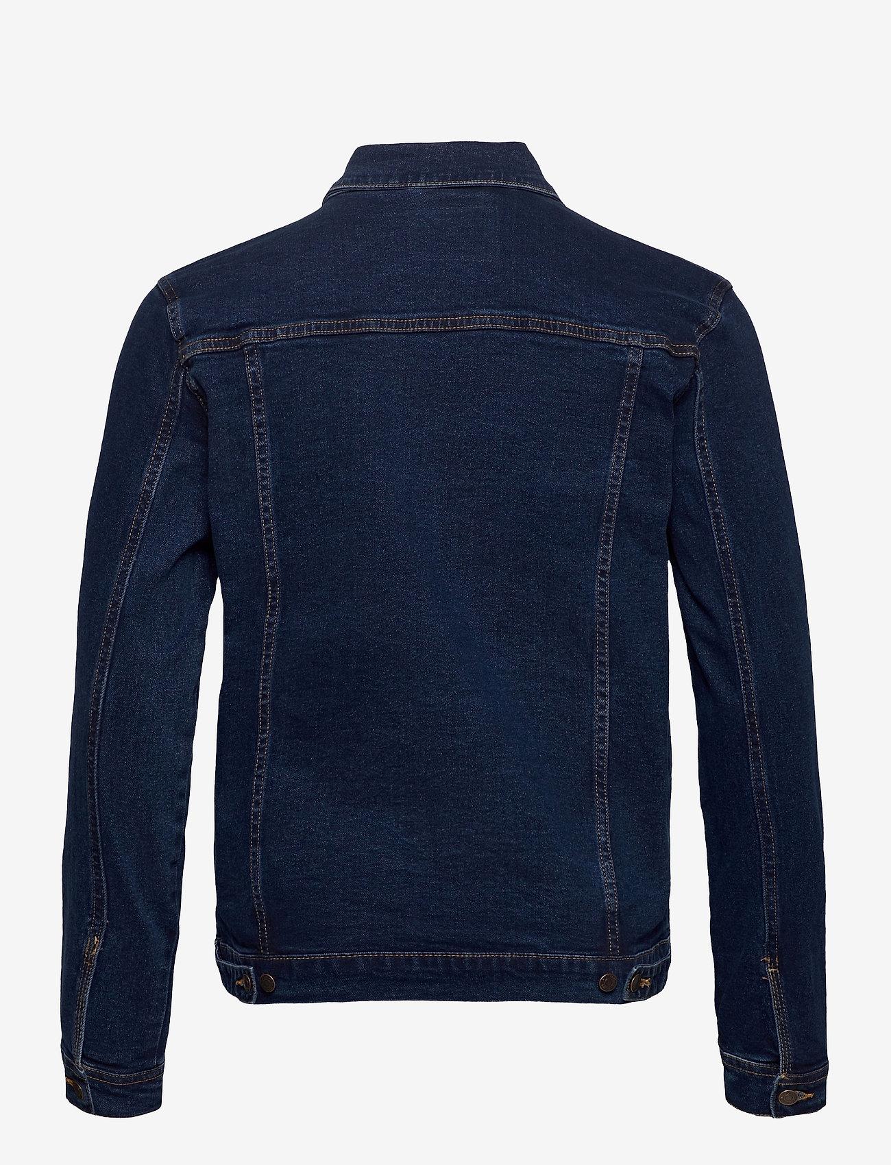 Denim project - Kash Denim Jacket - denimjakker - dark blue - 1
