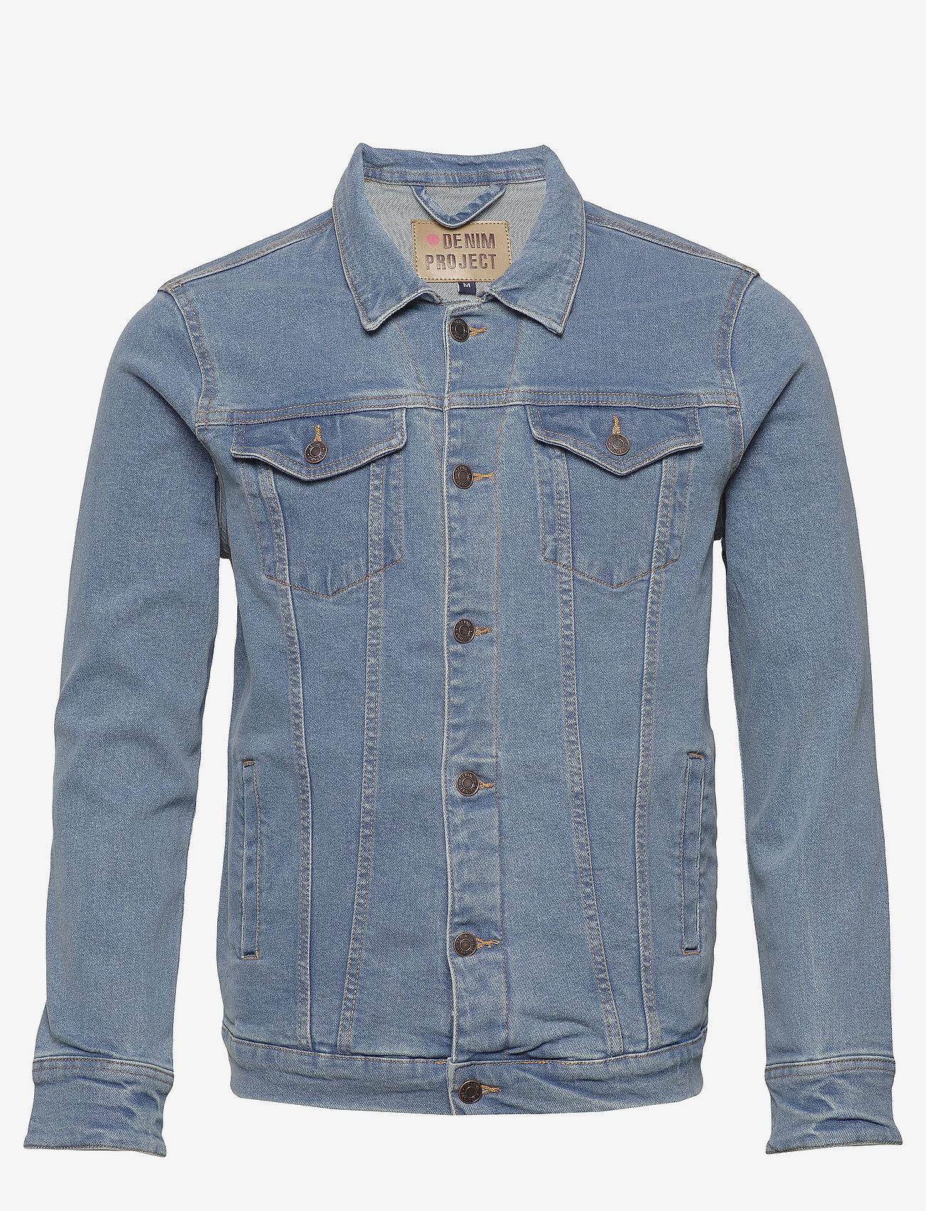 Denim project - Kash Denim Jacket - denimjakker - light blue - 0