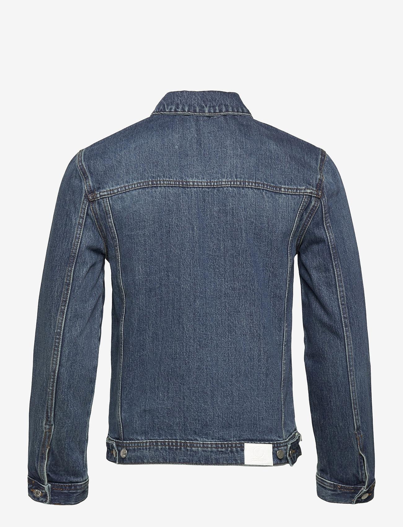 Denim project - Organic  Denim Jacket - denimjakker - 128 dark wash - 1