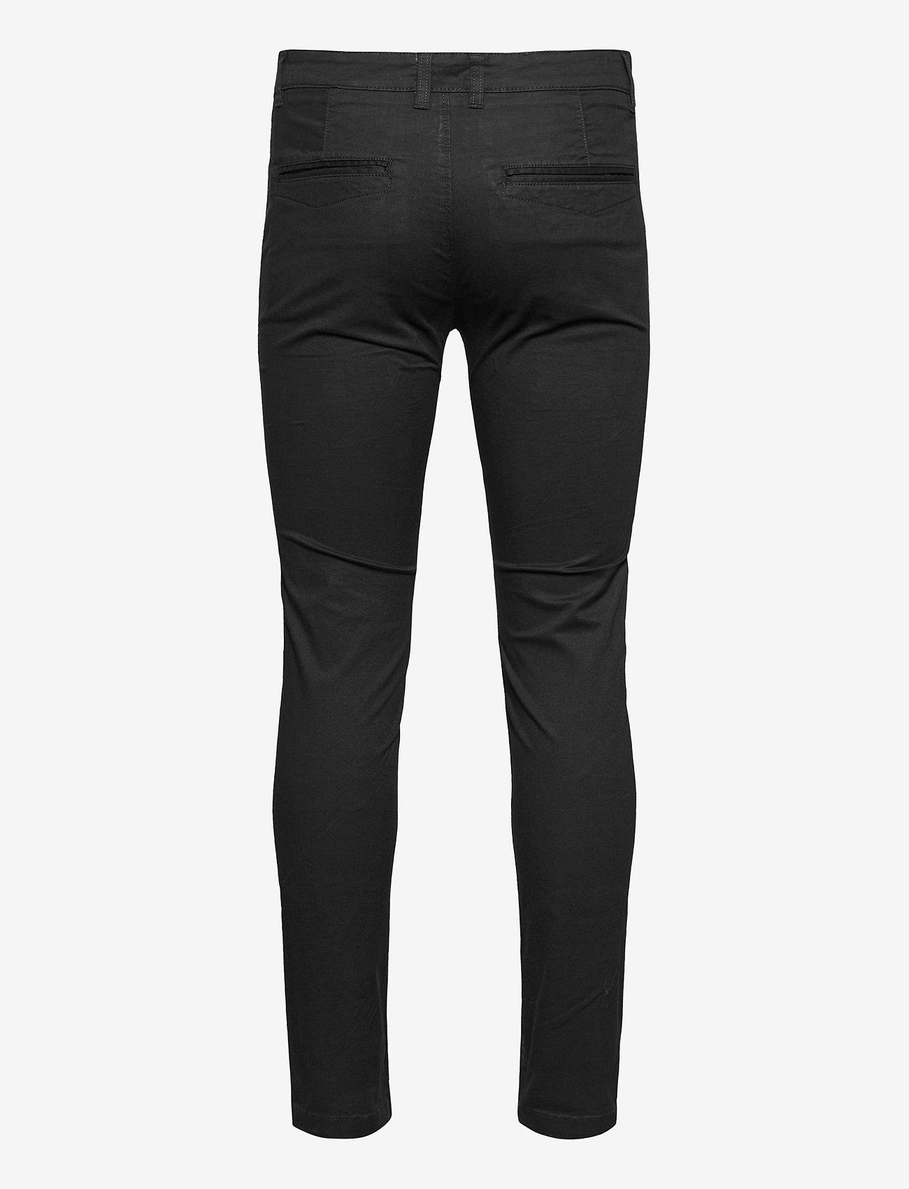 Denim project DPLUMI PANT - Bukser BLACK - Menn Klær
