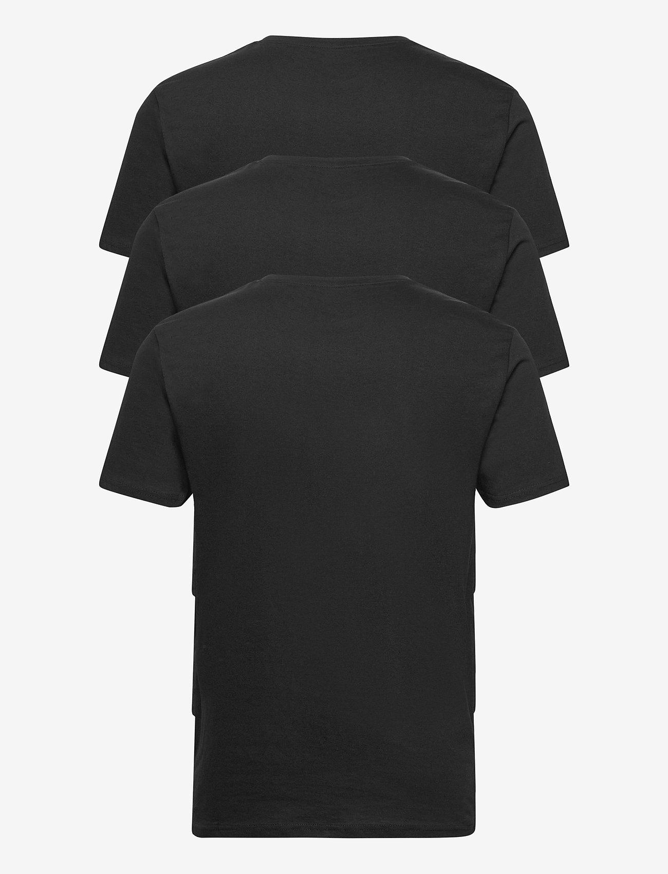 Denim project - 3 PACK T-SHIRTS - basic t-shirts - black - 1