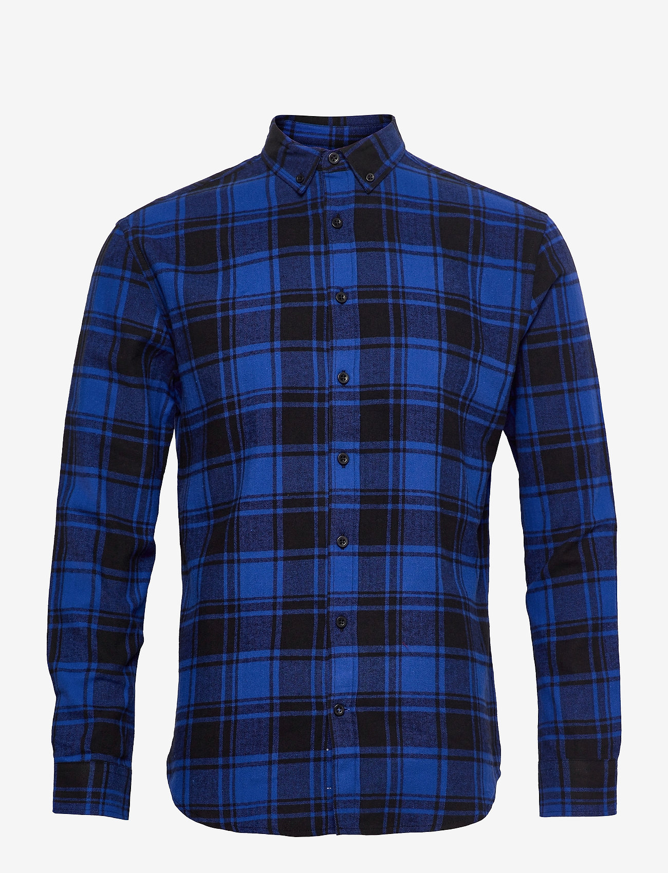 Denim project - Check Shirt - casual - blue check - 0