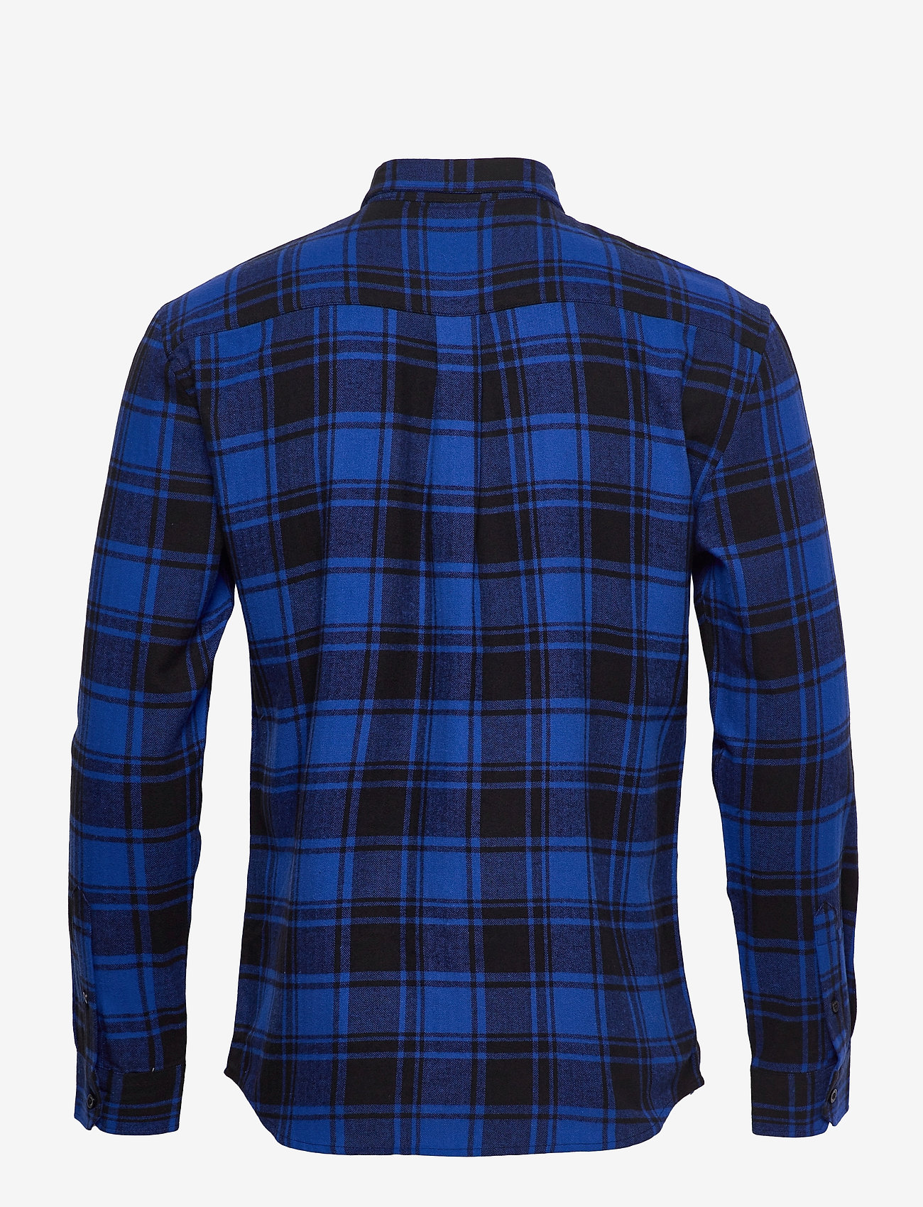 Denim project - Check Shirt - casual - blue check - 1