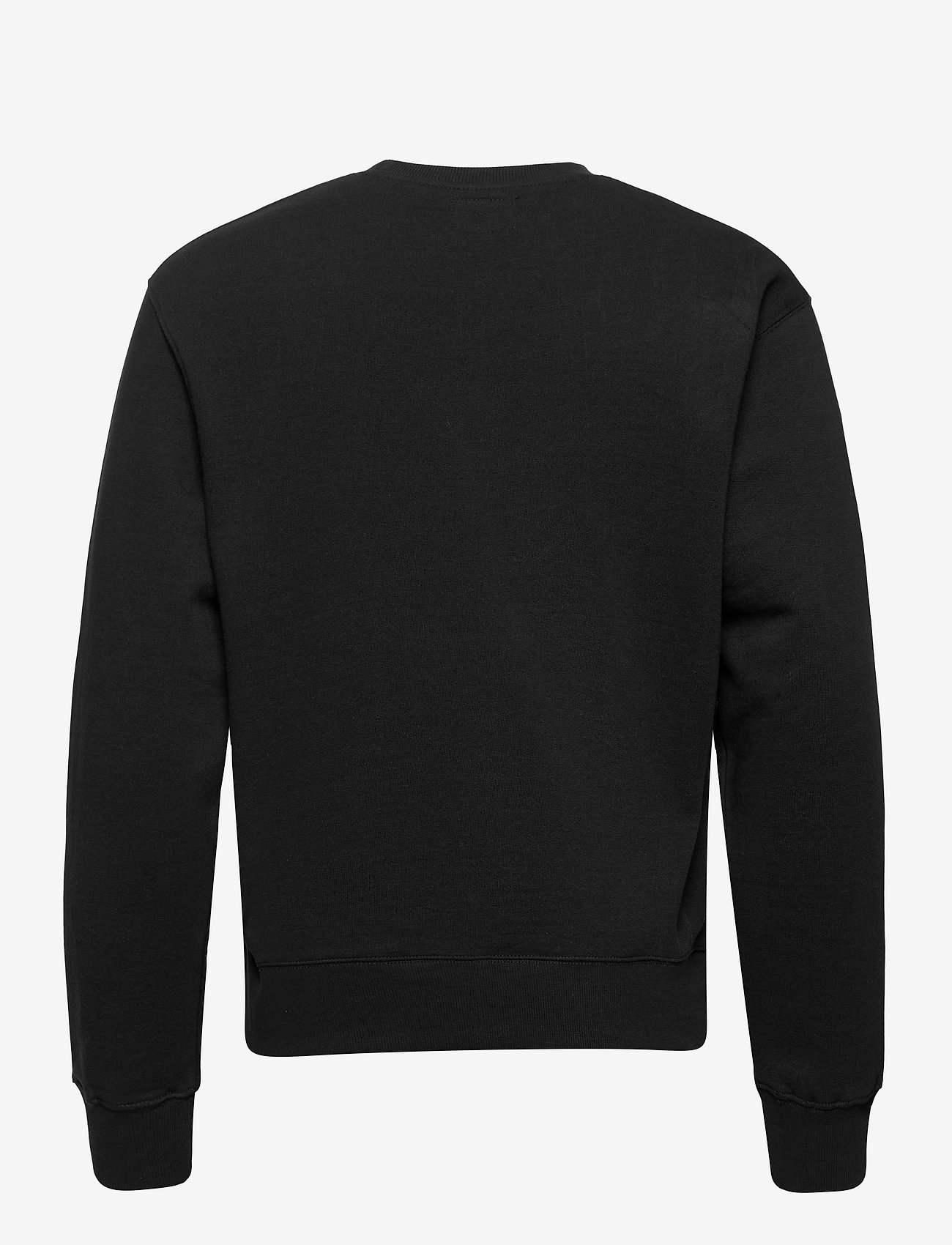 Denim project - Horizon Logo Organic Crewneck - basic sweatshirts - 001 black - 1