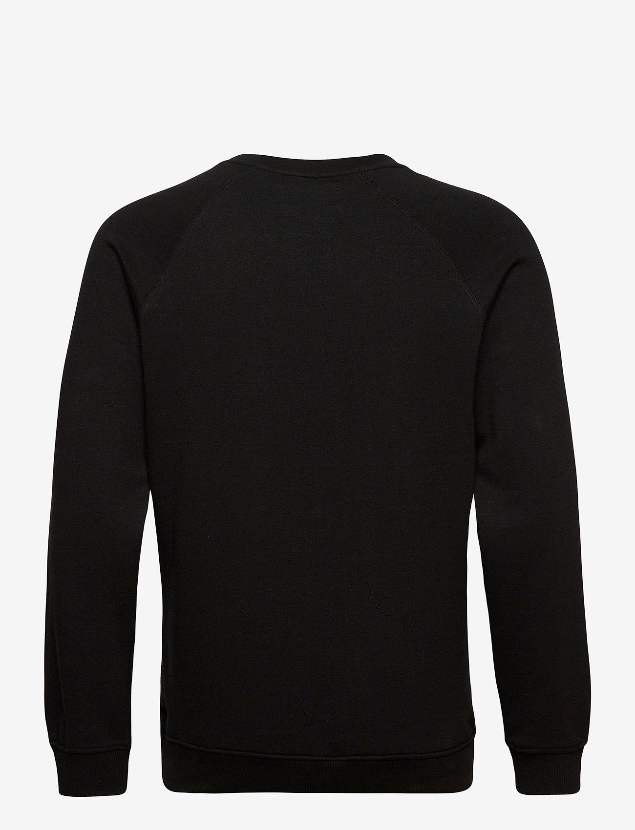 Denim project Logo Crew - Sweatshirts BLACK - Menn Klær