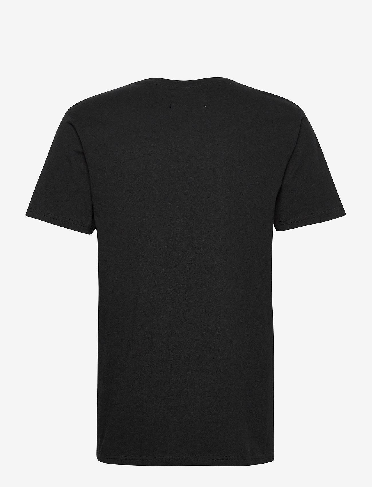 Denim project Logo Tee - T-skjorter BLACK - Menn Klær