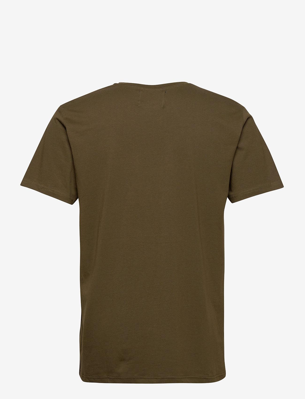 Denim project Logo Tee - T-skjorter OLIVE - Menn Klær